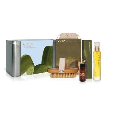 Voya Home Spa Retreat Set Gift Set In Tin