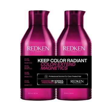 Redken Color Extend Magnetics Shampoo & Conditioner 500ml Duo (NEW LARGER SIZE)