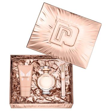 Paco Rabanne Olympéa 50ml Eau de Parfum + 75ml Body Lotion + 10ml Travel Spray Gift Set