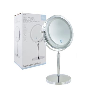 Asti LED Touch Adjustable Cosmetic Mirror