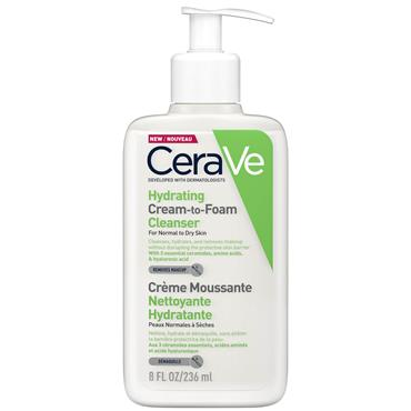 CeraVe Hydrating Cream to Foam Cleanser 236ml