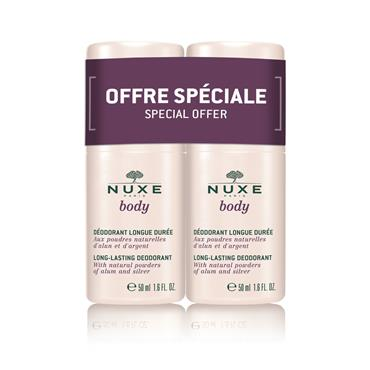 Nuxe Body Deodorant Roll On Twin Pack 2 x 50ml