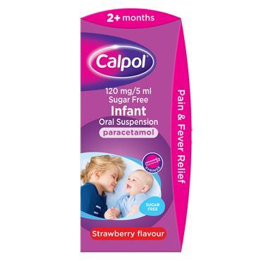 Calpol Infant 140ml Sugar Free