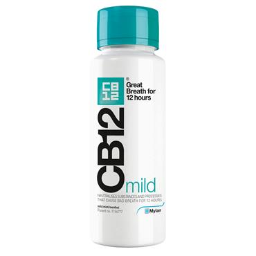 Cb12 Oral Rinse Mild Green Top 250Ml
