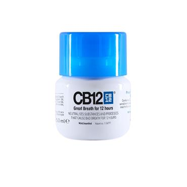 Cb12 Oral Rinse Blue Top 50Ml