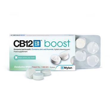 CB12 Boost Chewing Gum Eucalyptus 12s