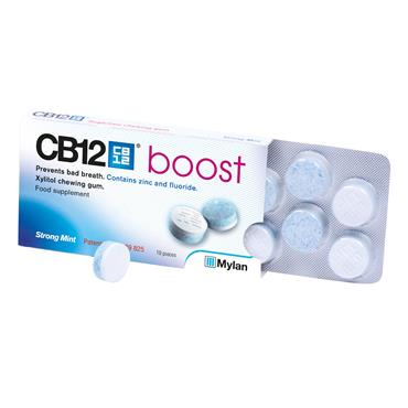 CB12 Boost Chewing Gum Mint 12s