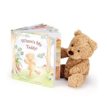 Jellycat Wheres My Teddy Book