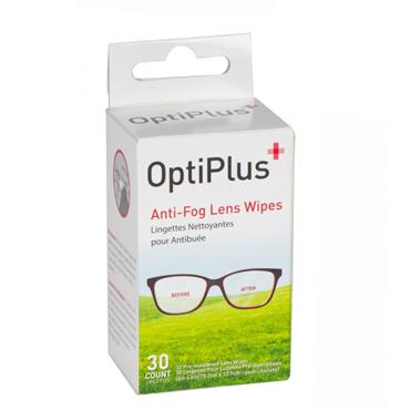 OptiPlus Anti-Fog Lens Wipes 30 Pack