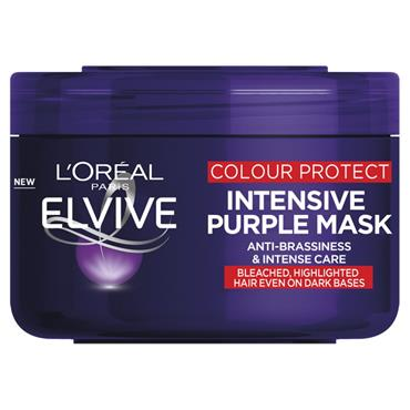 L'Oreal Paris Elvive Colour Protect Anti-Brassiness Purple Mask 250ml