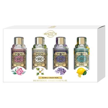 4711 Floral Collection Box 4 Miniature Perfumes