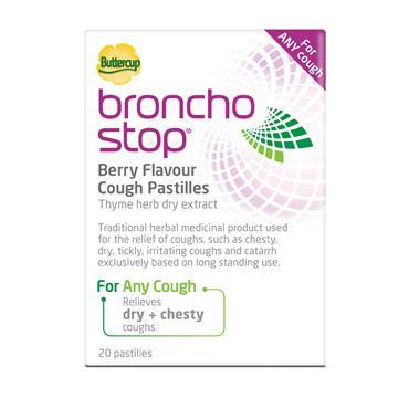 BronchoStop Berry Flavour Cough Pastilles 20