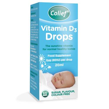 Colief Vitamin D Drops