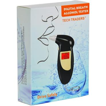 Tech Traders Alcohol Breath Analyzer Tester