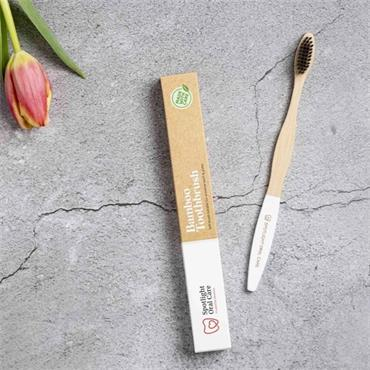 Spotlight Oral Care Bamboo Toothbrush White