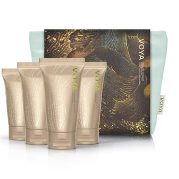 Voya Organic Voyager - Travel Set 4 x 75ml