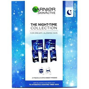 Garnier Night-Time Sheet Mask Collection