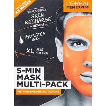 L'Oreal Paris Men Expert 5 Min Mask Gift Set