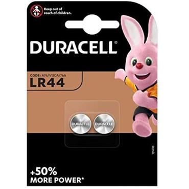 Duracell 1.5v Battery LR44  - Twin Pack