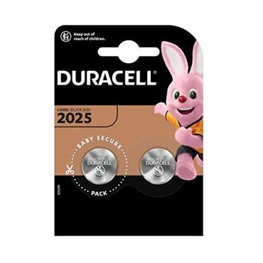Duracell DL2025 Coin Cell Battery - Twin Pack