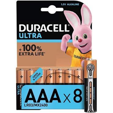 Duracell Ultra Power AAA 8 Pack