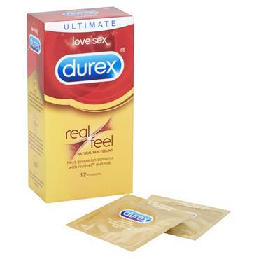 Durex Ultimate Real Feel 12 Pack