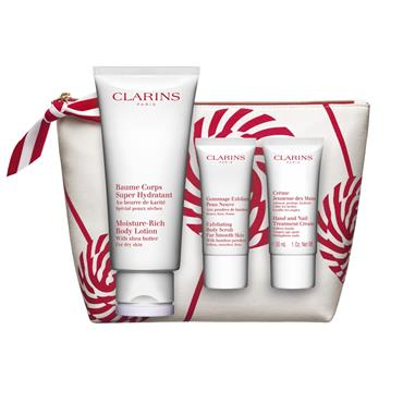 Clarins Moisture Rich Holiday Set