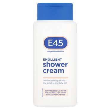 E45 Emollient Shower Cream 200Ml