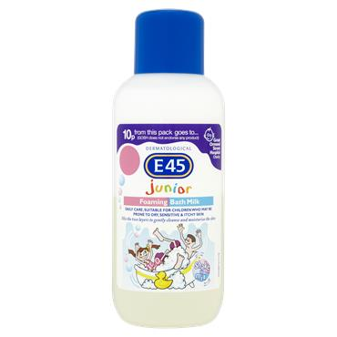 E45 Junior Foaming Bath Milk 500Ml