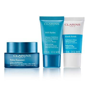 Clarins Hydra-Essentiel Skin Starter Kit