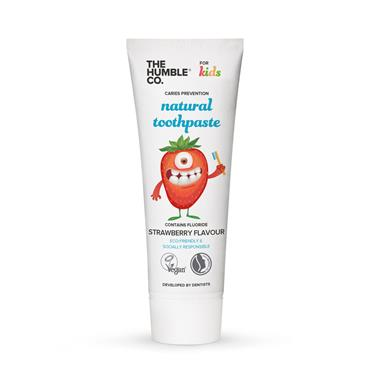 The Humble Co Natural Toothpaste Strawberry 75ml