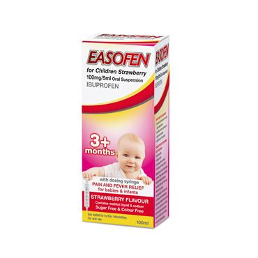 Easofen for Children Strawberry 100ml