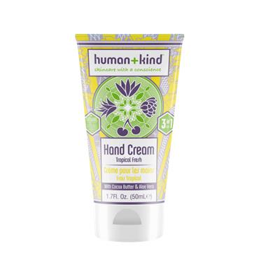 Human + Kind Hand Cream Tropical Fresh 50ml