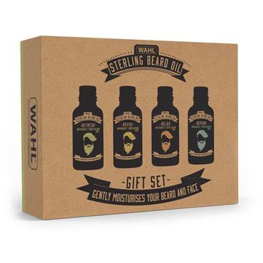 Wahl Beard Oil Gift Set 4x10ml