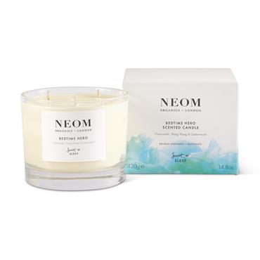 Neom Organics Bedtime Hero Scented Candle 3 Wick