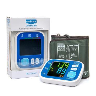 Medicare Lifesense A5 Upper Arm Blood Pressure Monitor