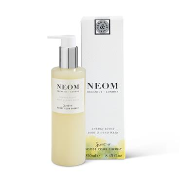 Neom Organics Energy Burst Body & Hand Wash 250ml