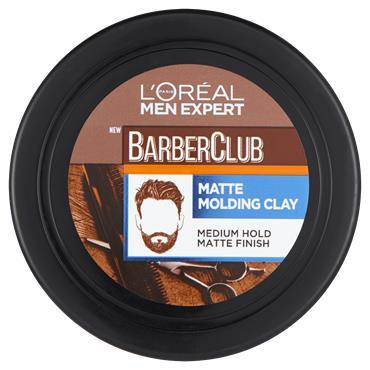 L'Oreal Paris Men Expert Barber Club Messy Hair Clay 75ml