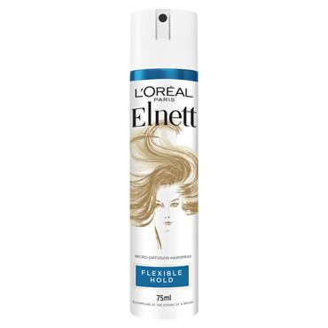 L'Oreal Paris Elnett Flexible Hold Shine Hairspray 75ml