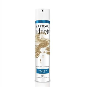 L'Oreal Paris Elnett Flexible Hold Shine Hairspray 400ml