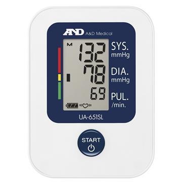 A&D Medical Upper Arm Blood Pressure Monitor |ANDUA651SL
