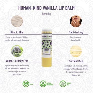 Human + Kind Lip Balm Vanilla