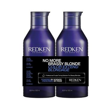 Redken Color Extend Blondage Shampoo & Conditioner 500ml Duo (NEW LARGER SIZE)