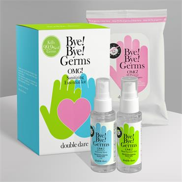 BYE! BYE! Germs OMG! Sanitizing Essential Kit