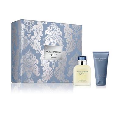 Dolce & Gabbana Light Blue Pour Homme 75ml Eau De Toilette Duo Set