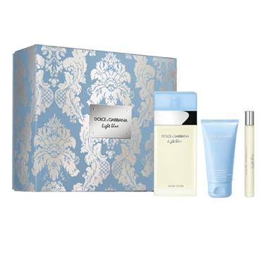 Dolce & Gabbana Light Blue 100ml Eau De Toilette Trio Set