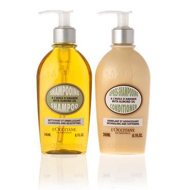 L'Occitane Almond Hair Care Duo