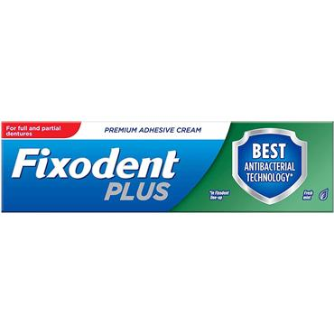 Fixodent Plus Dual Action Anti-bacterial 40g