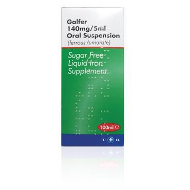 Galfer 140 mg/5ml Oral Suspension 100ml