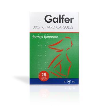 Galfer 305 mg Hard 28 Capsules